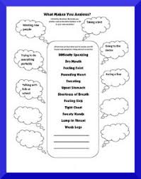 Cbt Behavior Chart Free Printable Anxiety Worksheets Resources Free