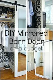 diy mirrored closet doors mirrored barn door on a budget in diffe photos diy cover mirrored diy mirrored closet doors