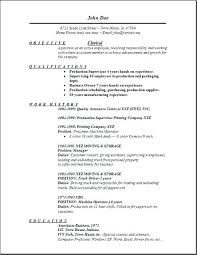 Resume Objective For Clerical Position Resume Examples For Clerical