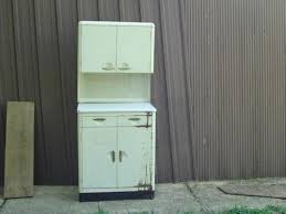 Vintage metal furniture Iron Dayoftheyear Metal Kitchen Cabinets Ebay