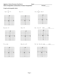 linear inequalities and systems of linear inequalities period graph each inequality below 1 y 2 x 5 3 1 3 y