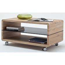 Stylish and very much functional coffee table will save you some space and  its movable function