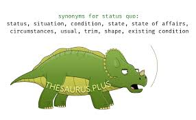 status quo synonyms similar words