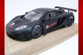 mclaren mp4 12c gt3 special edition. tecnomodel 2011 mclaren mp412c gt3 louis hamilton test car black matt mclaren mp4 12c gt3 special edition 4