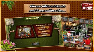 You travel through an array of varied, usually brightly colored scenes, finding items, searching detailed setups against a random list (hammer, boots, compass) and solving simple logic. Free New Hidden Object Games Free New Flower Shop For Android Apk Download
