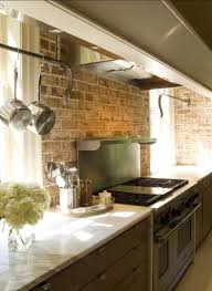 Small Picture Brick Backsplashes Rustic and Full of Charm Bricks Kitchens