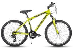 tn boys 21 sd aluminum frame mountain bike green