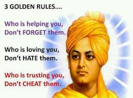 Golden Rules Motivational Quotes By Swami Vivekananda Stress Buster Custom Quotes Vivekananda