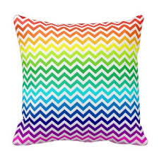 bright colored pillows. Perfect Bright Chevron Zig Zag Bright Rainbow Colors Throw Pillow In Colored Pillows P