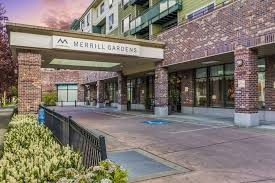 front entrance at merrill gardens at on centre