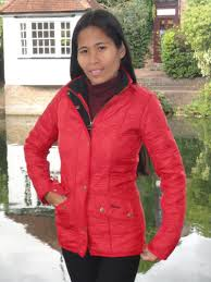 Barbour Ladies Cavalry Polarquilt Jacket Red lqu0087re51 - Red Rae ... & Barbour Ladies Cavalry Polarquilt Jacket Red lqu0087re51 - Red Rae Town &  Country Clothing Adamdwight.com