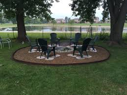 captivating pea gravel fire pit for your outdoor decor ideas great outdoor fire pit