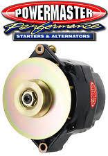 powermaster alternator charging starting systems powermaster 57294 gm 150a 12si delco alternator w 1v pulley baffle black