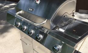 Better Homes And Gardens Test Kitchen Better Homes And Gardens Stainless Steel 4 Burner Gas Grill With