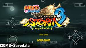 Naruto Ultimate Ninja Storm 3 Full Burst Mod ISO Download PPSSPP Android -  YouTube