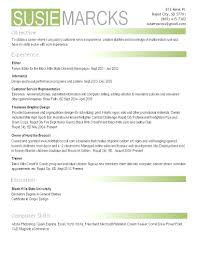 Photographer Resume Objective Resume Photography Resume 12