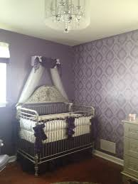 Project Nursery - Purple Girl Nursery Crib Canopy | Nursery ...