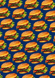 cheeseburger pattern.  Cheeseburger Cheeseburger 3 Pattern By Kelly Gilleran To Redbubble