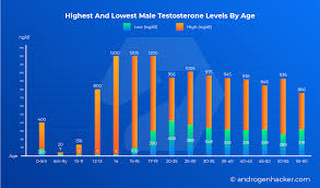Testosterone Level Chart By Age The Ultimate Guide To Testosterone Levels By Age Charts