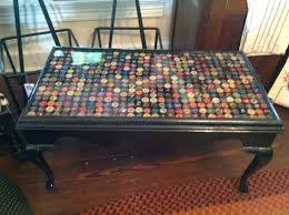 bottle cap furniture. 4th sister vintage beer bottle cap coffee table furniture m