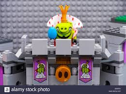 Tambov, Russian Federation - July 20, 2016 Lego Angry Birds. King Pig Stock  Photo - Alamy