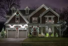 Christmas home lighting Outdoors Christmas Holiday Light Installation Temecula Long Island Christmas Light Installation