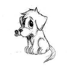 Small Picture How to Draw a Puppy Step by Step Pets Animals FREE Online Drawing