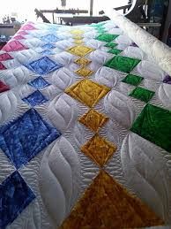 Longarm Quilting Designs Free My Customers Pieced Version Of My Dangling Diamonds Pattern