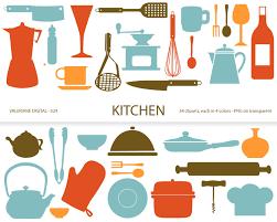 kitchen tools clipart.  Tools Kitchen Clipartu0027s Retro Kitchen Utensils Scrapbook Supplies Clipart Clip  Art Instant Intended Tools Clipart Pinterest