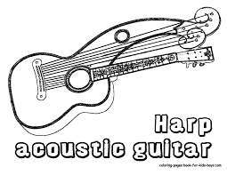 Small Picture Handsome Acoustic Guitar Printables Acoustic Guitars Free