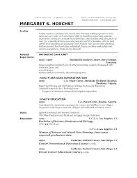 Sample Profile Statement For Resumes Resume Profile Sample Resume Pro