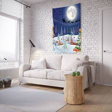 """<b>Панно с фотопринтом на</b> стену JoyArty """"Новогодний вечер ..."""
