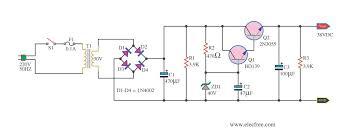power supply regulator 38v circuit wiring diagrams power supply regulator 38v