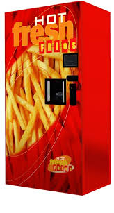 Hot Chip Vending Machine For Sale