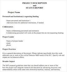 Project Status Sheet Enchanting 48 Sample Useful Project Status Report Templates Sample Templates