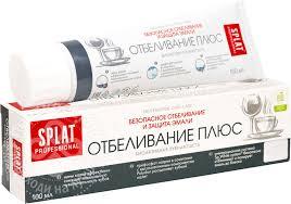 Купить <b>Зубная паста Splat</b> Отбеливание плюс 100мл с доставкой ...