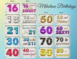 Milestone Birthday Bundle Pop Studios Props