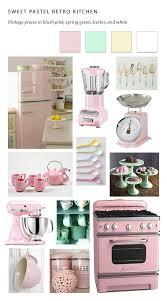 large pastel kitchen close