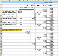 Pricing Model Excel Template How To Excel At Options Valuation