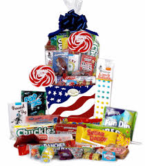 retro candy gifts and vine candy ortments patriotic usa retro candy gift basket with whirly pop