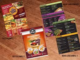 Food Product Poster Design Elegant Playful Fast Food Restaurant Poster Design For A