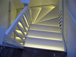 led stairwell lighting. amazing led strip lights stairs stairwell lighting s