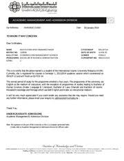 Confirmation Letter 09 Sep 13 And Will Finish On 02 Feb 14 The