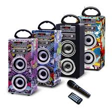 speakers karaoke. polaroid south africa | portable bluetooth karaoke beat box speakers with fm radio