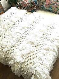 wedding rug blanket best ideas on exotic world market moroccan ivory