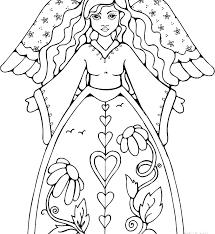 Printable Angel Coloring Pages Homelandsecuritynews