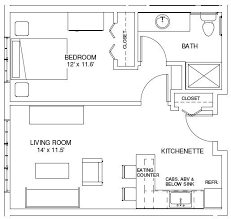 ****one Bedroom House Plans | ONE BEDROOM FLOORPLANS | Find House Plans  **************This Is Exactly What I Was Thinking.