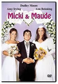 Amazon.com: Micki & Maude: Dudley Moore, Amy Irving, Ann Reinking ...