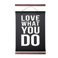 wall banner printing elegant magnetic wooden poster hanger frame white black diy picture of 12 inspirational