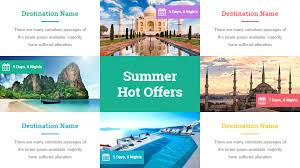 Summer Powerpoint Templates Travel And Tourism Powerpoint Presentation Template